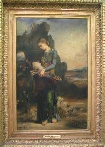 orpheus 1865 by gustave moreau gustave moreau art and links at ...