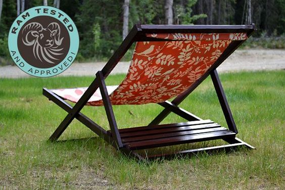 Ana White Build A Wood Folding Sling Chair Deck Chair