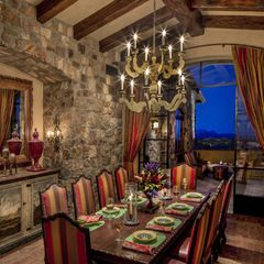 traditional dining room by Urban Design Associates