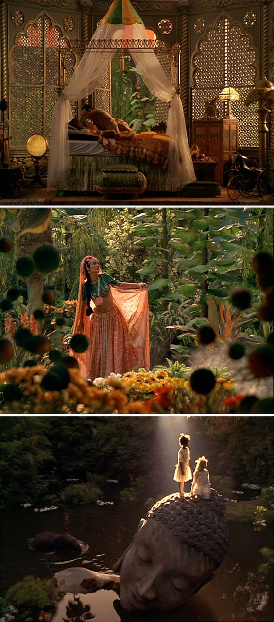 A Little Princess - production design bob welch, art director tom duffield, set decorator A cheryl carasik (the team that brought you bettlejuice, edward scissorhands, and men in black.)