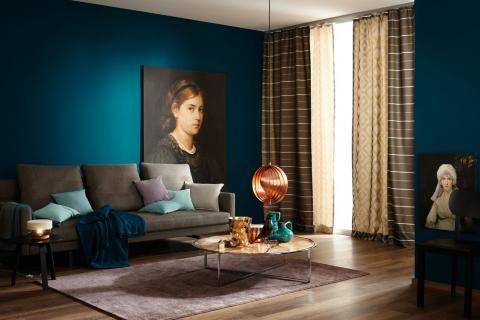 Petrol Als Wandfarbe So Wird Sie Kombiniert Schoner Wohnen Schoner Wohnen Farbe Schoner Wohnen Wandfarbe Schoner Wohnen