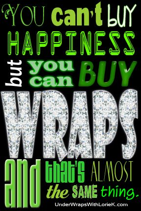 Have you Tried that crazy wrap thing?! Message me on facebook www.facebook.com/wrapwithkapri https://kapri.myitworks.com
