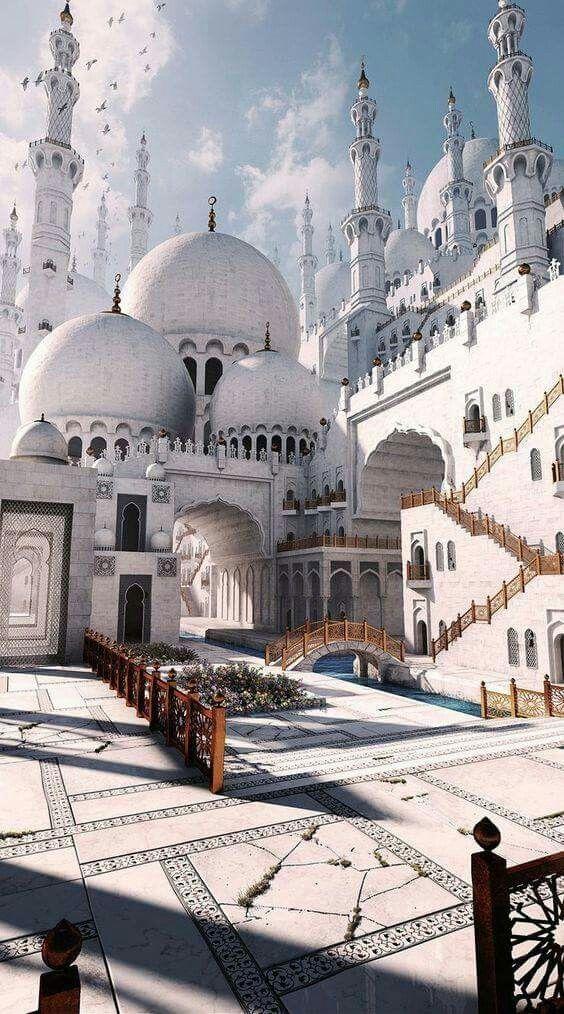 Sheikh Zayed Grand Mosque Abu Dhabi Uea In 2020 Beautiful