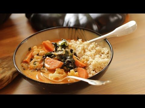 Beths vegetarian thai red curry entertaining with beth youtube learn how to make a vegetarian thai red curry a perfect vegetarian thanksgiving recipe can also be made ahead of time includes recipe video as well forumfinder Image collections