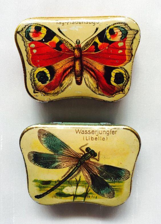 2 seltene Automatendosen von Hartwig & Vogel