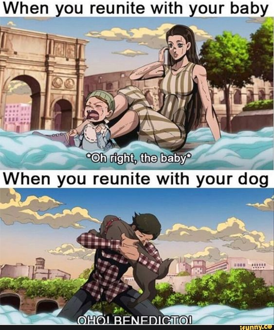 Dogs Are More Valuable In Jojo