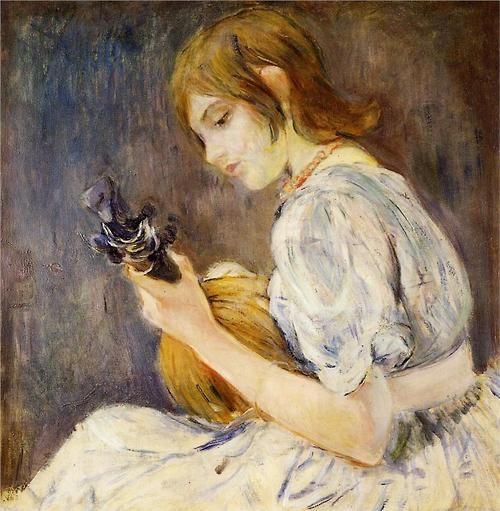 Berthe Morisot (French, 1841-1895) - The Mandolin, 1889