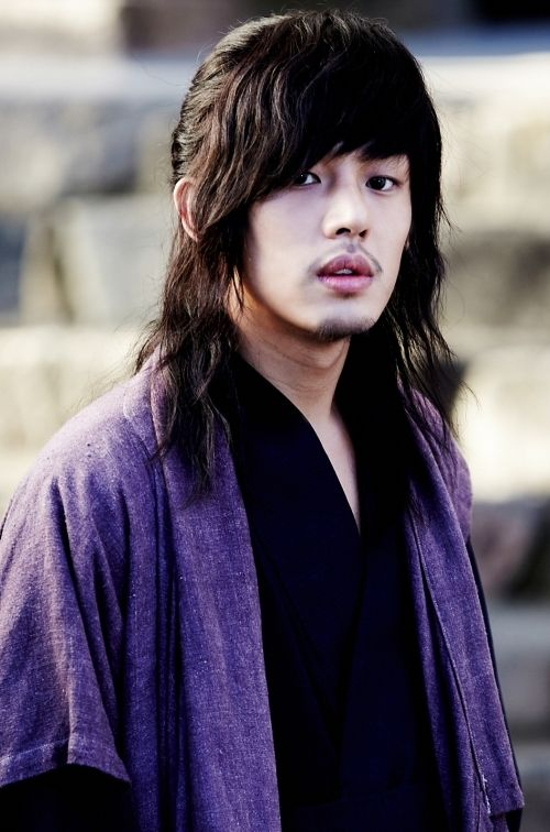 "Yun Ah In as Moon Jae-Sin (nickname Geol-oh) in ""Sungkyunkwan Scandal"":"