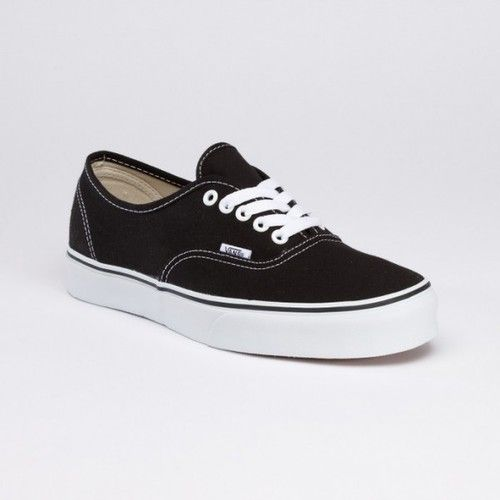 Black Vans for groom and groomsmen