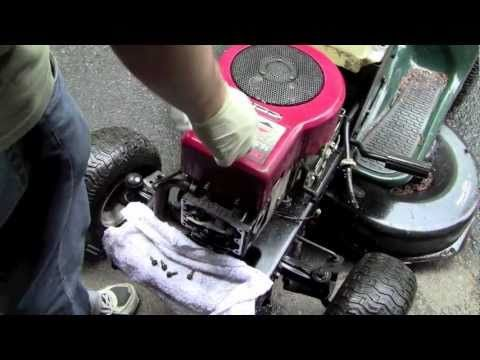 Testing The Motor On The Lt1000 From The Dump Youtube Lawn Mower Repair Motor Dumped