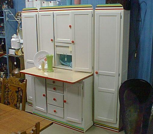 Fiestas, Hoosier Cabinet And Cabinets On Pinterest