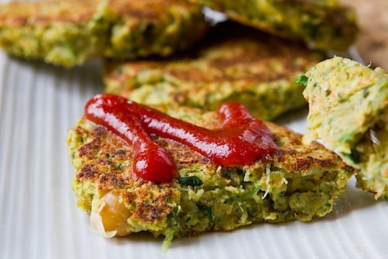 Chickpea Veggie Burger- freeze these and have your own homemade veggie burgers!