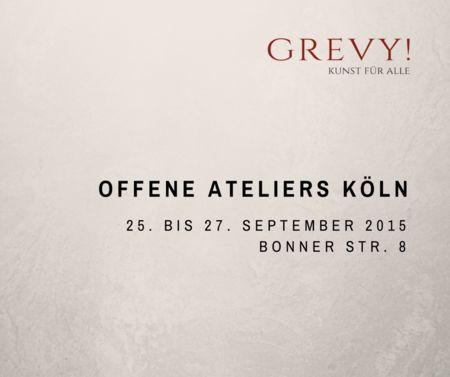 Grevy | Offene Ateliers Köln 2015
