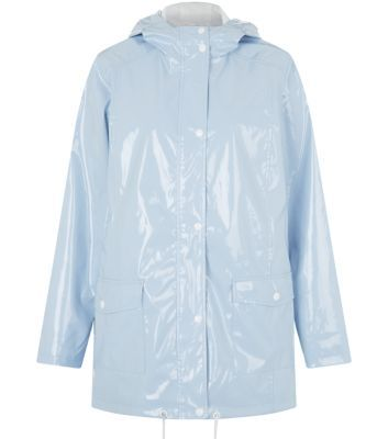 Urban Bliss Light Blue Rain Mac | Rainy weather ahead? | Pinterest ...