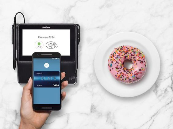 Android Pay banks on Chase Santander for new users     - CNET                                              Google                                          As of today Android Chase customers can use their Chase Visa cards with Android Pay the OSs mobile payment system announced in May 2015. Chase was one of the first US banks on board when Apple Pay was announced in September 2014 and added support for Samsung Pay on its Galaxy devices in November 2015. (A full list of Android Pa-supported…