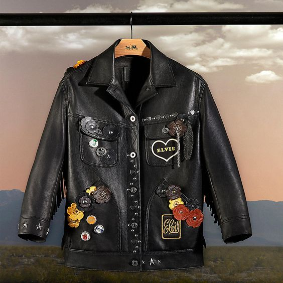 One-Of-A-Kind Customized Leather Jacket