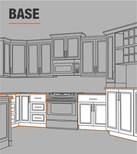 Hampton Bay Shaker Assembled 24x34 5x24 In Base Kitchen Cabinet With Ball Bearing Drawer Glides In Dove Gray Kb24 Sdv The Home Depot In 2020 Kitchen Cabinets Kitchen Design Small Kitchen Cabinet Dimensions