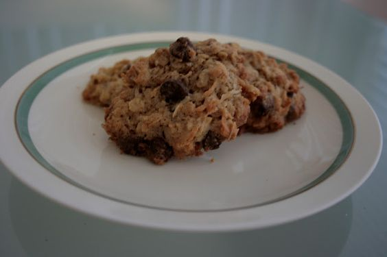 one and one eighth danish: milling mondays: coconut chocolate chip oatmeal cookies