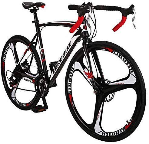 Eurobike Obk Xc550 Road Bike 700c Wheels 21 Speed Disc Brake Mens