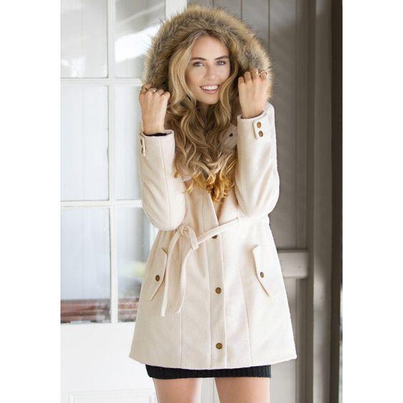 Faux Woolen Utility Jacket (145 BAM) via Polyvore featuring outerwear, jackets, utility jacket, woolen jacket, faux jacket and wool jacket