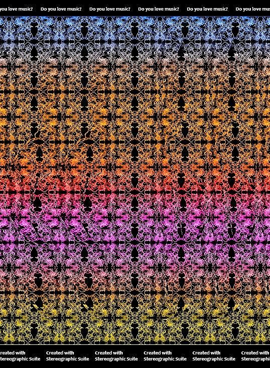 Had A Bit Of Treble With This One Initially Magic Eye Pictures Eye Illusions Illusion Pictures