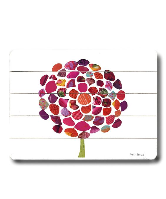 Take a look at this Vino Zinnia Wall Art on zulily today!