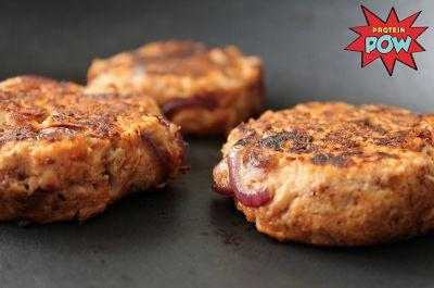 Perfect Tuna Burgers - with (GF) Protein Burger Buns!