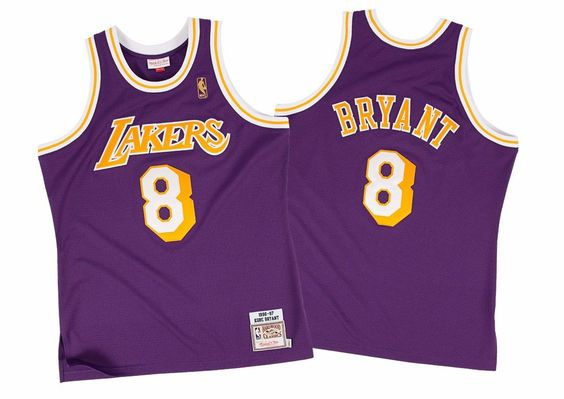 Kobe Bryant Los Angeles Lakers Mitchell & Ness 1996-97 Authentic Jersey…