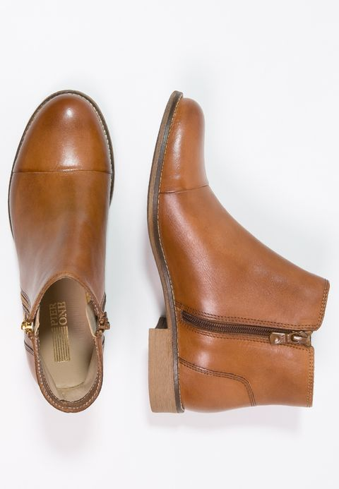 Pier One Ankle Boot - cognac - Zalando