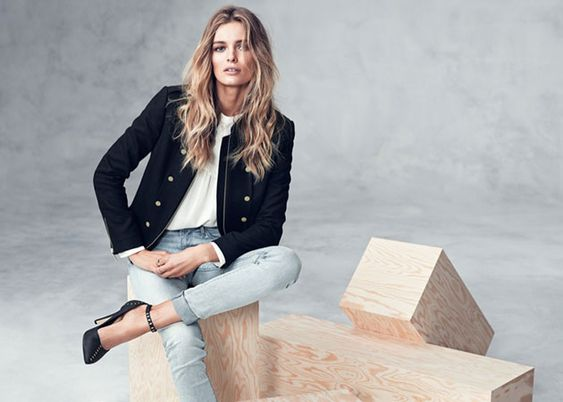 Image result for Edita Vilkeviciute H&M Winter 2013 2014 Lookbook