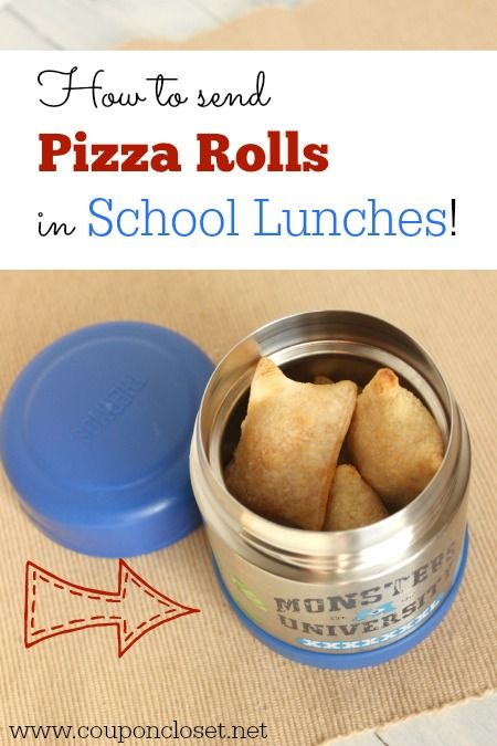 how to bring pizza for lunch in kindergarten