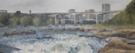 James River by Alexander Freeland Colin Barton