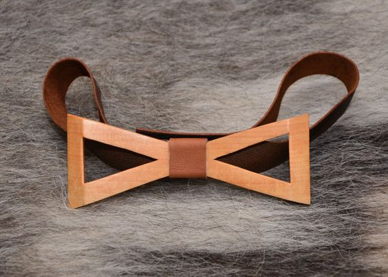 Wood Bow Tie Wooden Bow Tie Handmade Exclusive Wooden от NataTrade