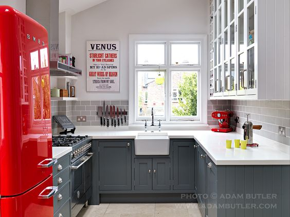 Kitchen in Fulham, London, by Williams Ridout