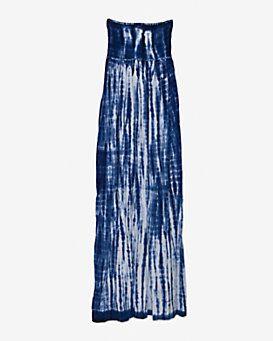 Cool Change Strapless Tie Dye Maxi Dress
