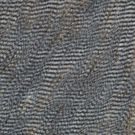 Faux Fur Ostrich Fur Caramel/Grey