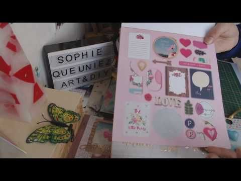 Mes Creas Scrap Avec Le Luxe Paper Block 3 Action Scrap Cartes