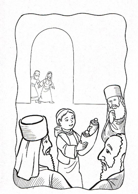 Pinterest The World S Catalog Of Ideas Jesus At The Temple As A Boy Coloring Page Free
