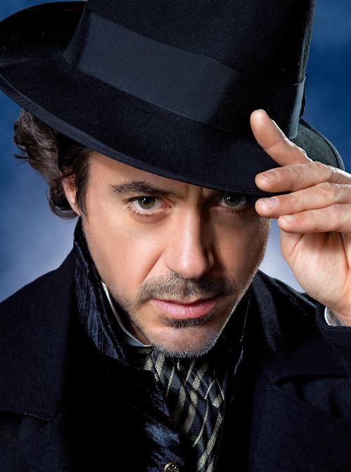 RDJ as Sherlock Holmes