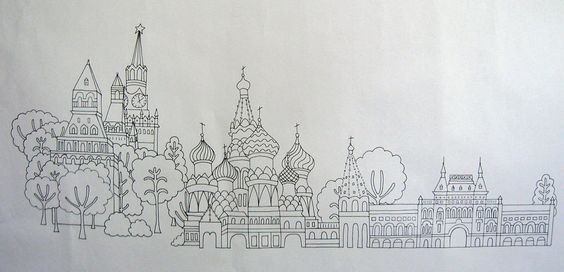 Embroidery Pattern- Red Square. $14.00, via Etsy.