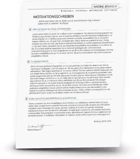 Motivationsschreiben Vorlage Motivationsschreiben Motivation Motivationsschreiben Muster