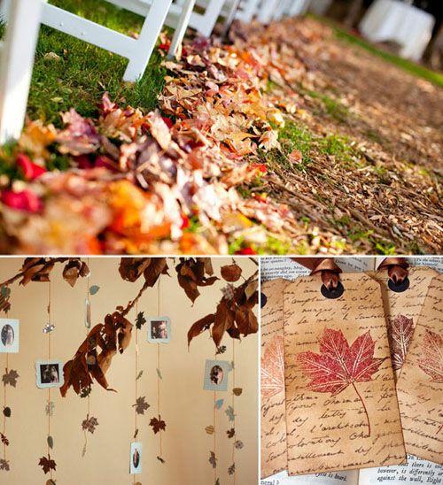 Matrimonio Tema Autunno : Tema autunno organizzazione matrimonio forum