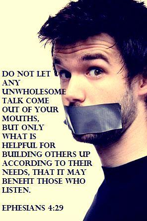 Ephesians 4:29: