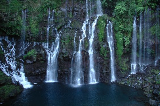 Langevin Waterfalls, Reunion Island
