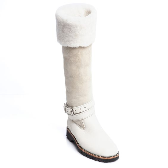 Aspen Sheepskin Boot   Women's Shoes and Boots   Roots