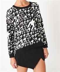 Houndstooth Jersey