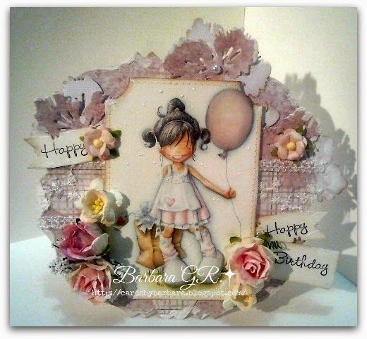 Cards by Barbara: Saturday Birthday Party