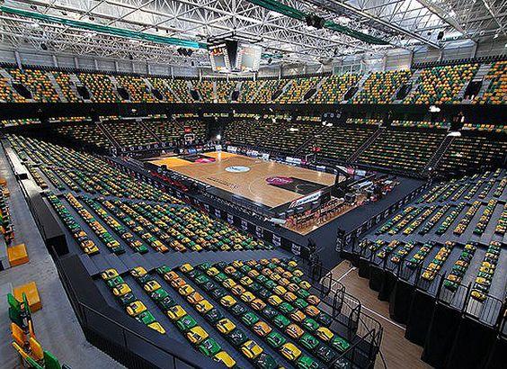 Cancha del Bilbao Arena, Miribilla, Bilbao