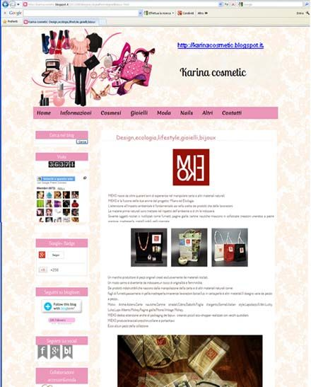 karina cosmetics & mieko