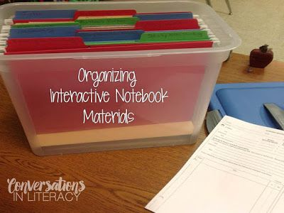 How to pack up your classroom to make unpacking easier: found on Conversations in Literacy blog